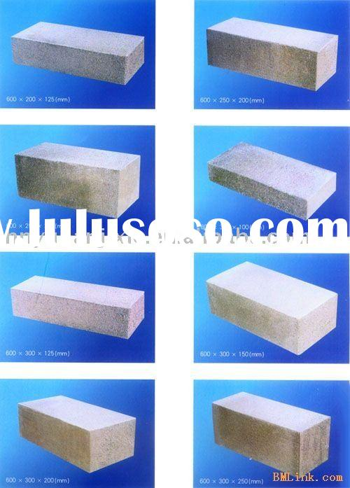 Popular AAC block. Autoclave Aerated Concrete block. Newest!