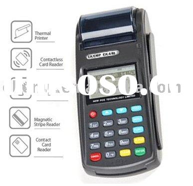 Programable handheld POS equipment integrates magnetic strip card reader,WiFi,GPRS (N8110)