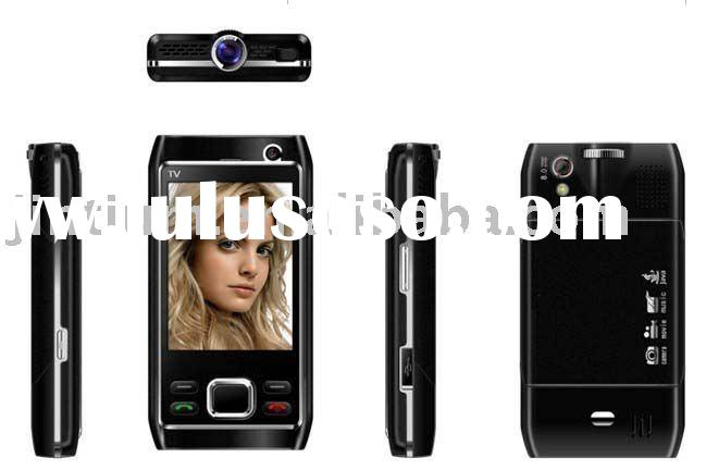 Projector Mobile phone with TV T505
