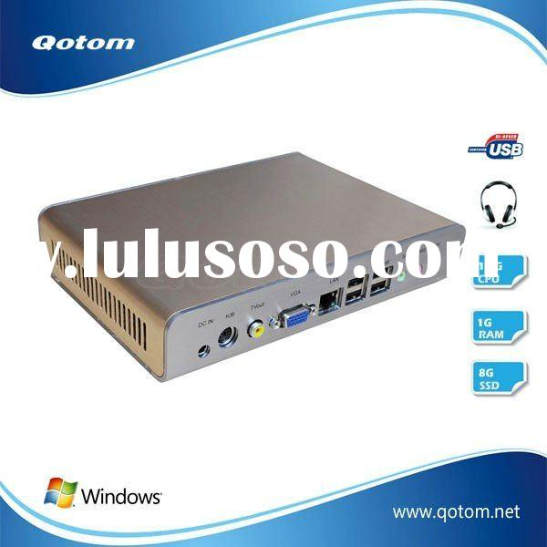 QOTOM-T27 intel atom mini desktop pc, pc server station, mini pc desktop,used computer desktop pc.