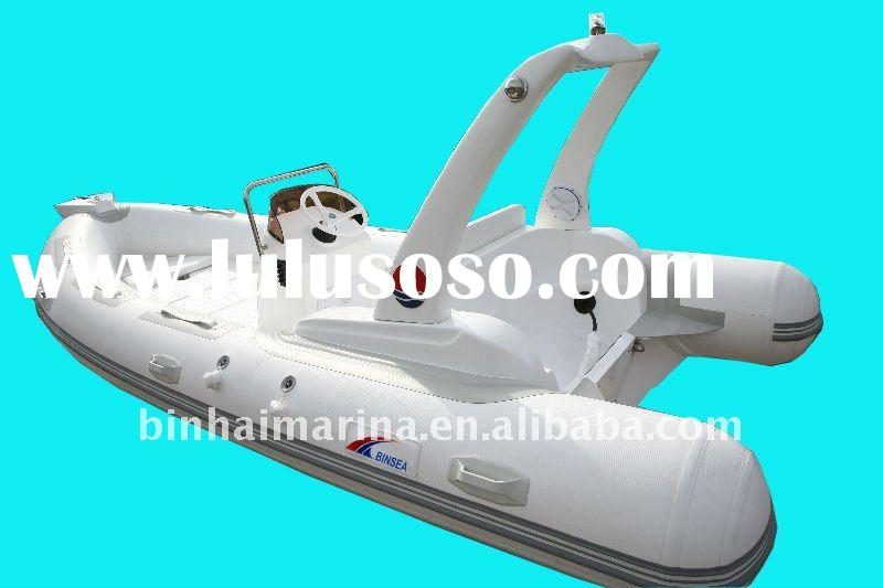RIB 520 inflatable boat with CE certificate and in hot sale