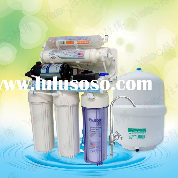 RO 6 stages manual flush under sink ro water purifier / RO water filter /RO water treatment