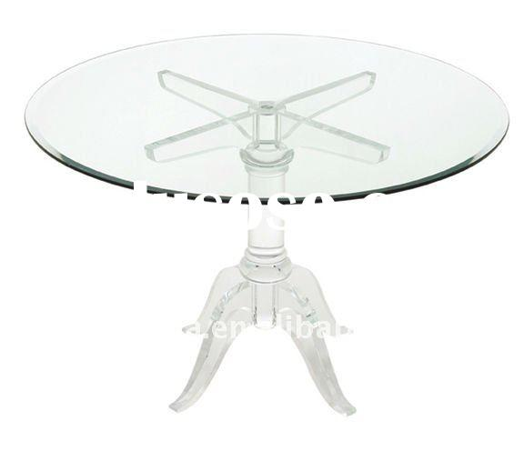 Acrylic top table acrylic top table manufacturers in for Lucite kitchen table