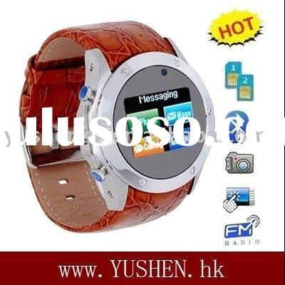 S768 dual sim dual standby watch phone support video chat