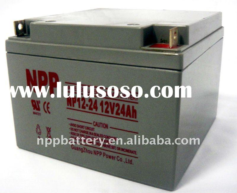 Sealed lead acid battery 12V 24AH(CE,UL,SGS,ISO)