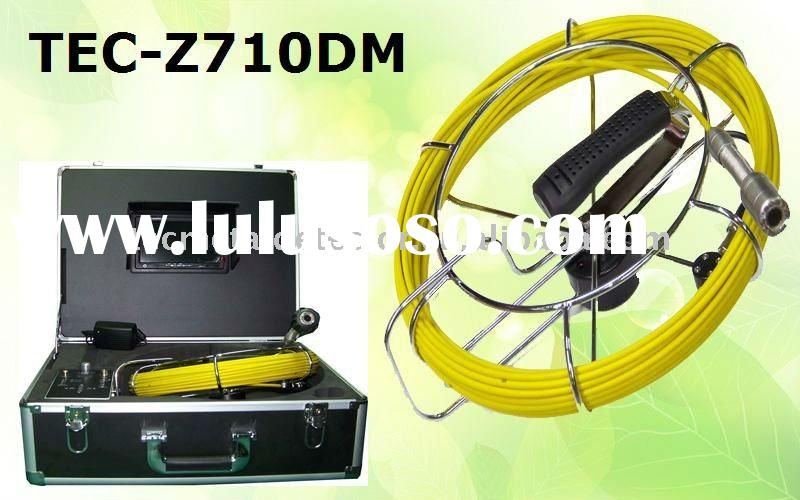 Security Sewer Inspection Camera With 20m Cable TEC-Z710DM