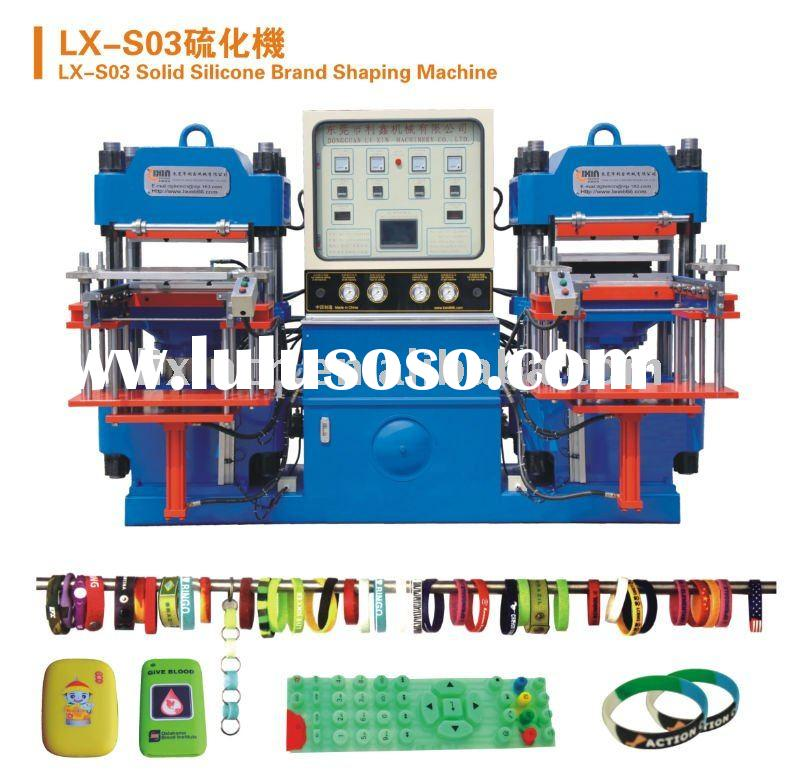 Silicone Shaping Machine for wristband