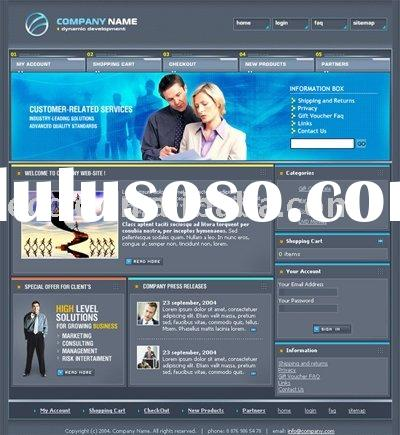 Skillful and Attractive Computer-electronics Website Design in Business Services