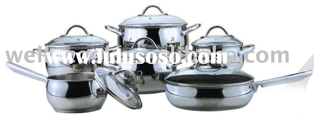 Stainless Steel Cookware Sets YF-C1512