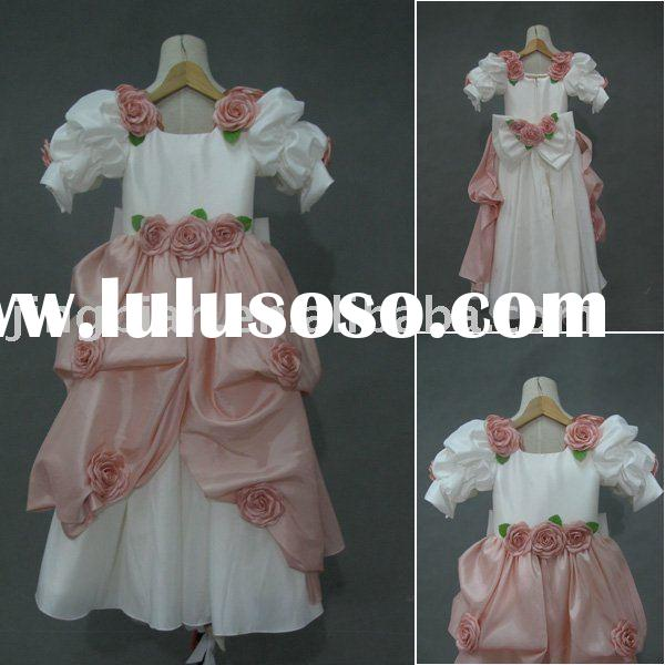 Suzhou New Designer A-line /Princess Flower Girl's Dress MB474