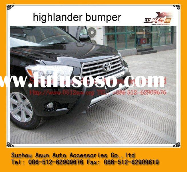 TOYOTA HIGHLANDER car auto accessories 2009+ chrome