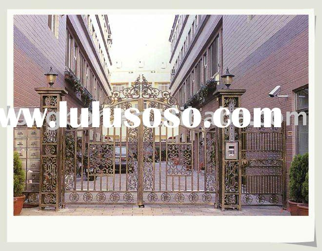 Top-selling wrought iron gate malaysia(I-G-0028)