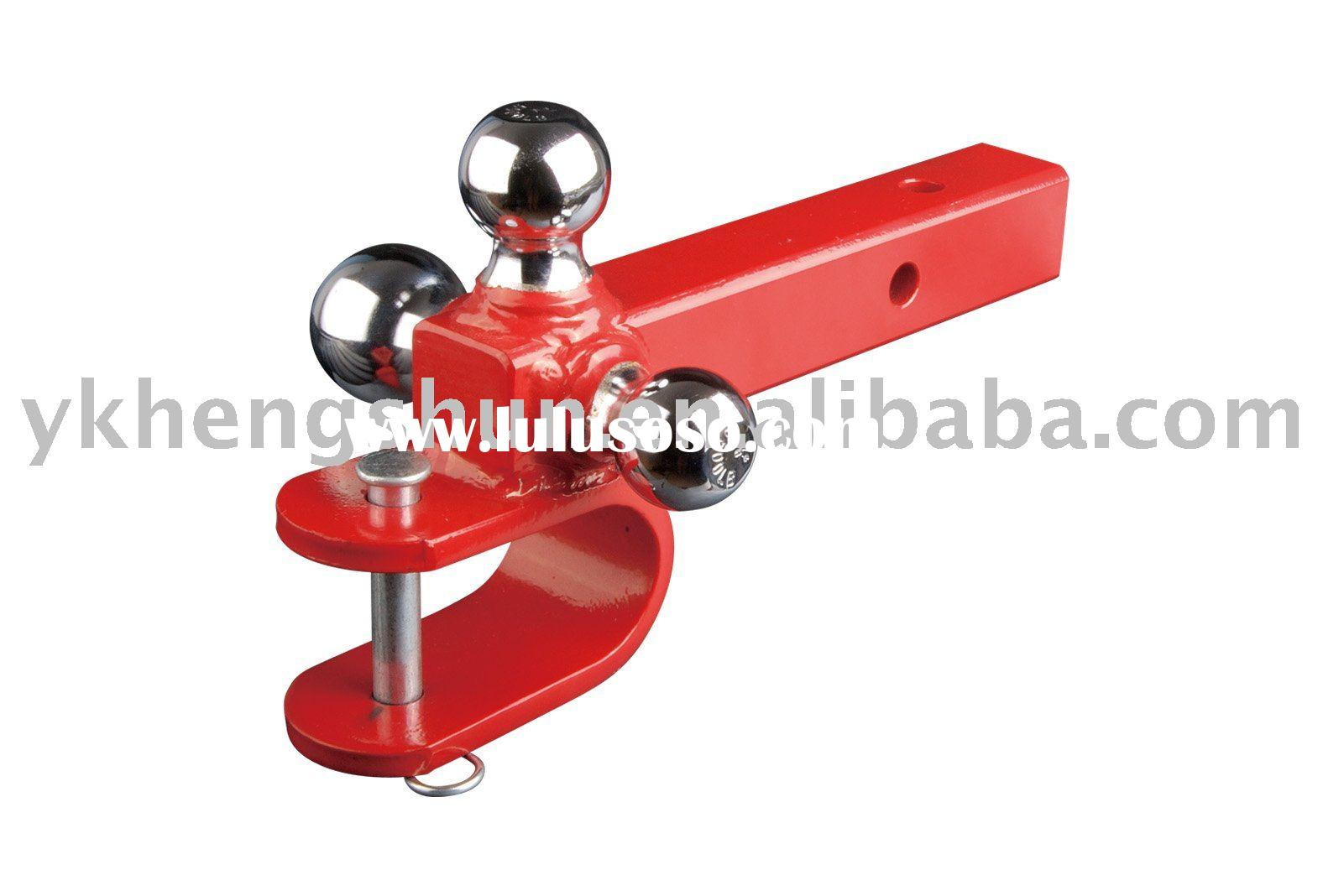 Tri-Ball Trailer Hitch Mount with U Clevis