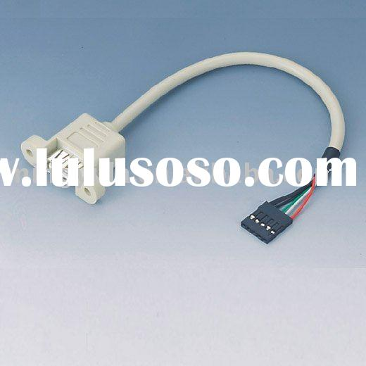 USB 2.0 cable to wire harness 5Pin