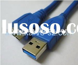 USB 3.0 cable A type male to Micro B male,USB micro cable