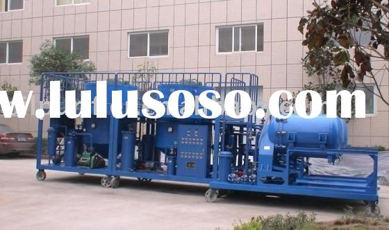 Used Engine Oil Recycling Machine Oil Purifier Oil Filtration Plant Oil Purification