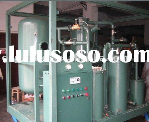Vacuum Used Vegetable Oil Treatment Machine,Oil Purification