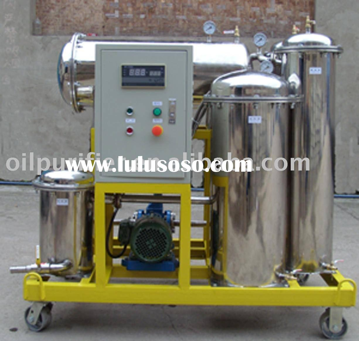 Vegetable Oil Filtration Machine/ Cooking Oil Purifier/recycling