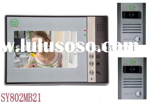 "Villatic Model 7"" COLOR TFT LCD wireless Video Door Phone Visual Intercom Bell"