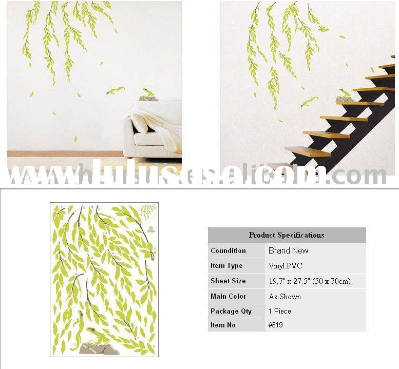 Wall Decals Vinyl ART MURAL STICKERS WILLOW FROG