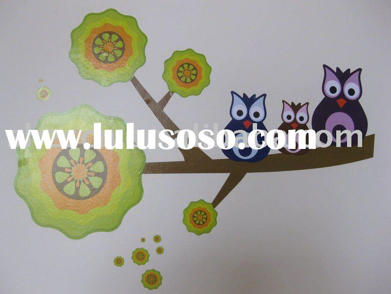 Wall Sticker/wall decal/kids room decoration/vinyl & paper wall sticker