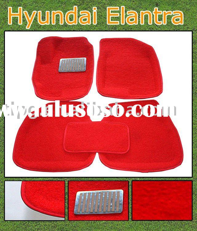 Waterproof car floor mat for Hyundai Elantra ,waterproof car mat,pvc car mat