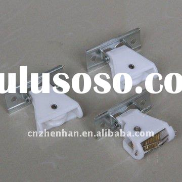 White color cord lock and cord pulley set to bamboo blinds mechanisms,bamboo blind accessories/compo