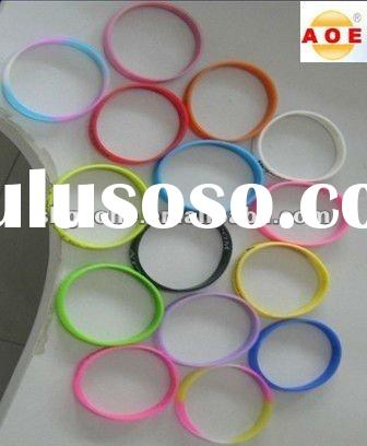 Wholesale Cheap Silicone Bracelet / printed silicone bracelet