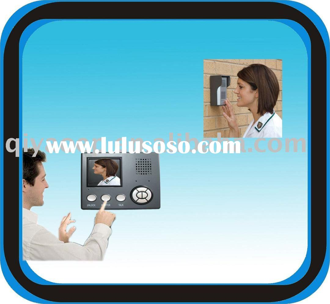 Wireless Color Video Door Phone Home Surveilance System