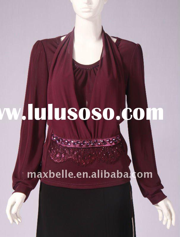 Women Fashion Clothing For 2012 Spring Long Sleeve No.11249-28