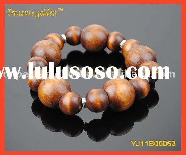 Wood Bead Bracelet&Bangle