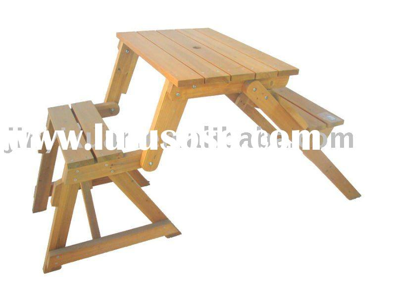 stakmore wooden kids folding table desk chair set ...
