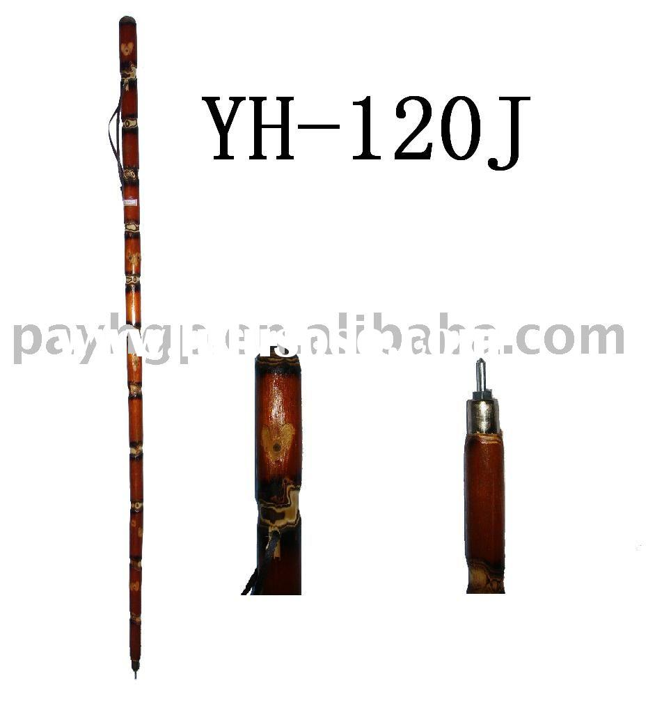 Wooden hiking sticks/travelling stick/walking canes/climbing tool