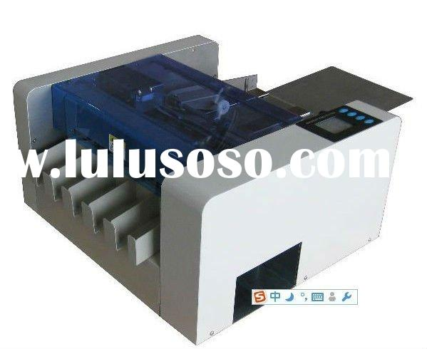XH-A3 fully automatic business card cutter machine
