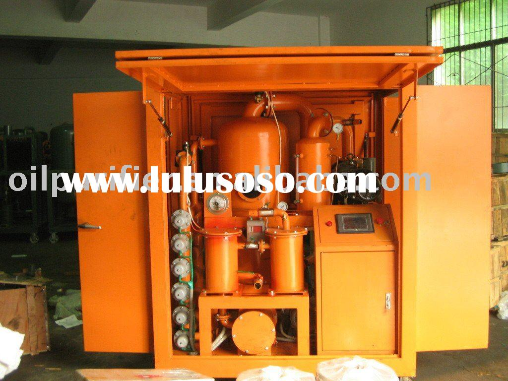 ZYD vacuum oil purifier machine for transformer oil