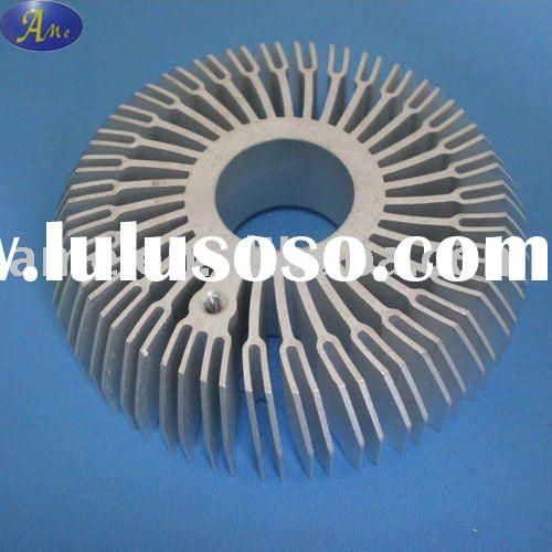 aluminum extrusion heat sink for LED lighting accessories