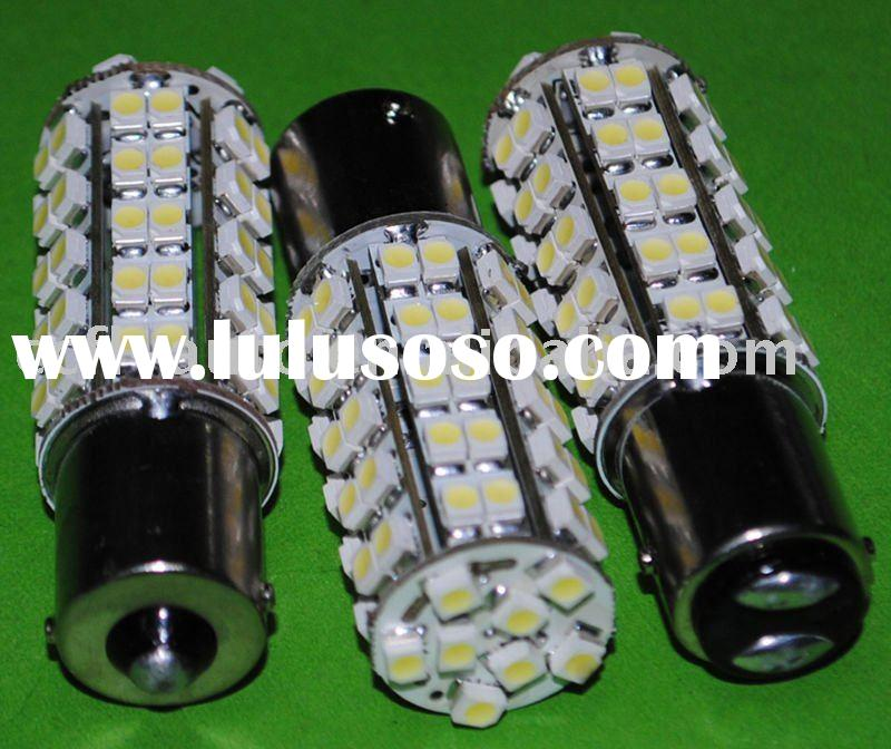auto car led light lamp 1156 1157 socket 68pcs SMD3528 LED tail turn brake bulb 12VDC