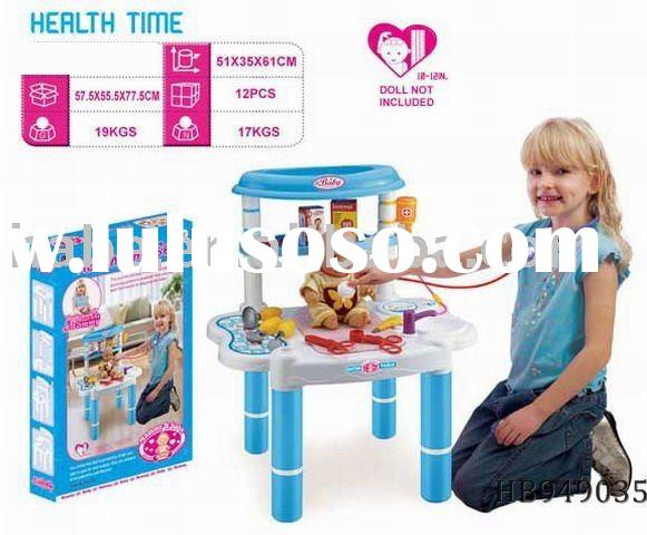 baby doctor table,doctor play set, plastic toys
