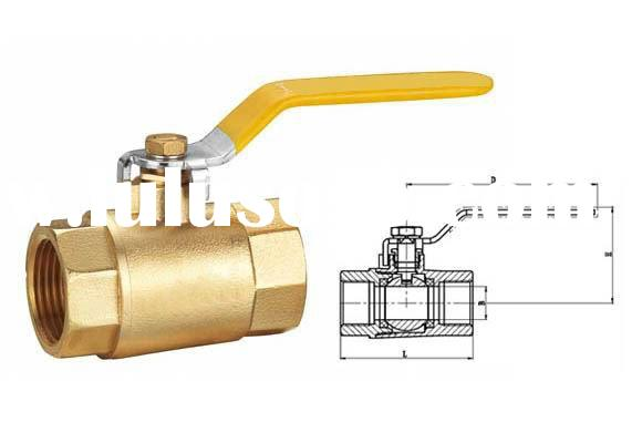 ball valve/ansistandards/refrigeration/chrome plated