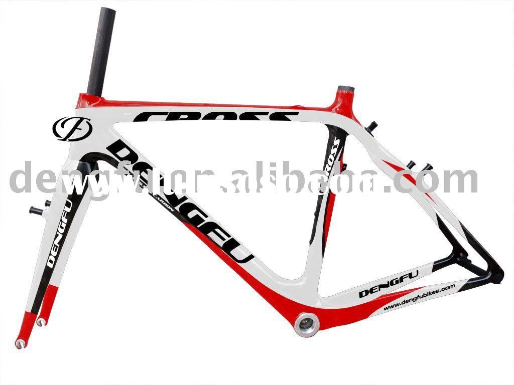 bicycle frameset&carbon bicycle parts&full carbon Cyclocross frame&fork