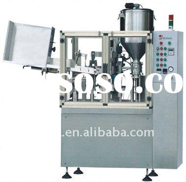 body lotion tube filling and sealing machine