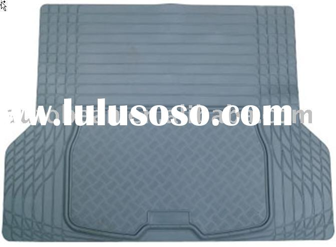 car boot mat, rubber car mat, trunk mat