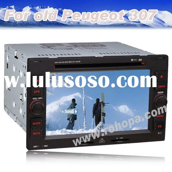 car dvd player gps 2 din for old Peugeot 307