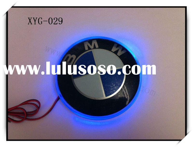 car logo sticker with led light for BMW
