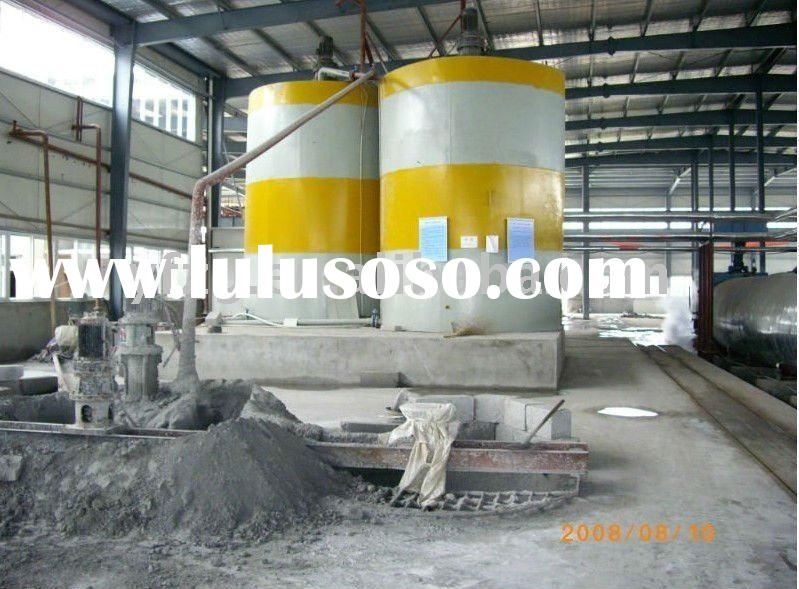 casting machine for autoclaved aerated concrete AAC block plant 20,000m3- 300, 000m3/Year- call Wils