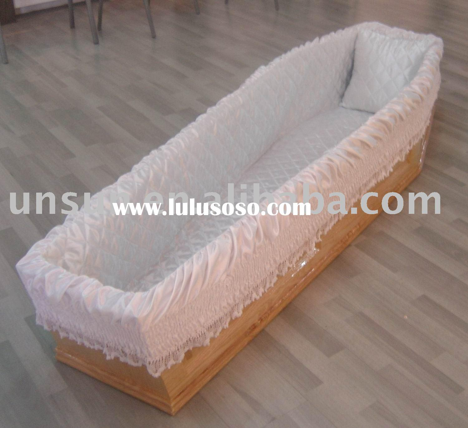 coffin interiors decoration,funeral supplies,casket lining
