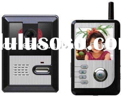 color hands-free digital wireless video door phone system