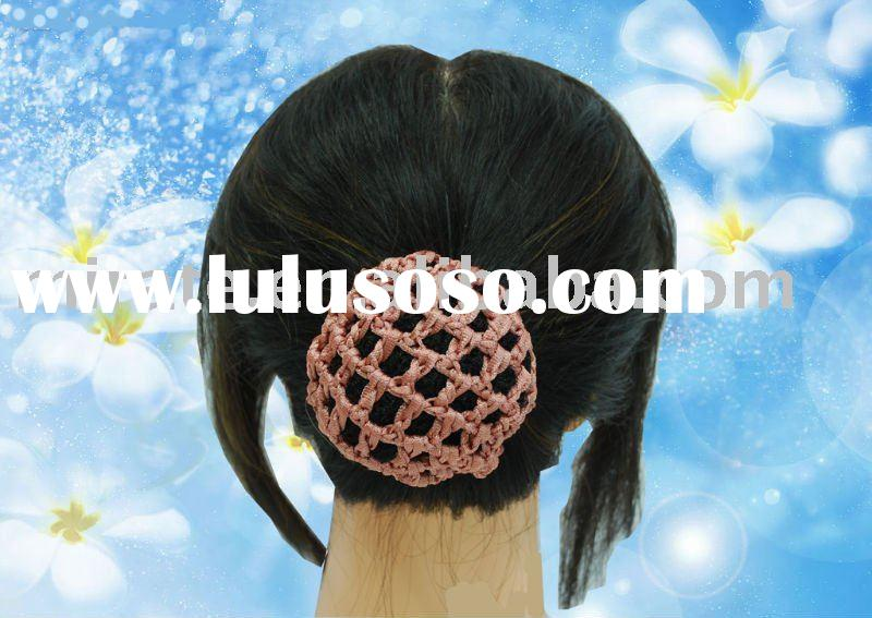 Magic Circle - Ballet Hair Bun Cover - Crochet Me