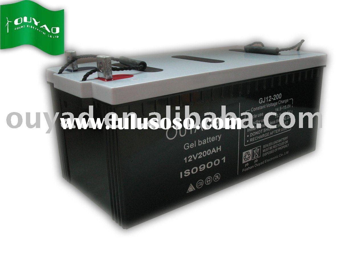 deep cycle /AGM/ GEL solar battery