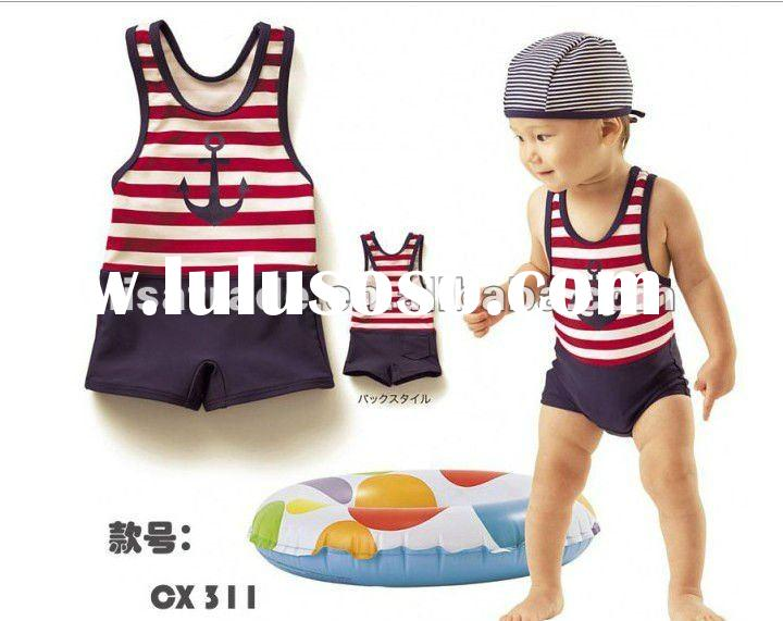 fashion baby swimwear, cute baby beach wear, 2012 baby Bikini swimwear